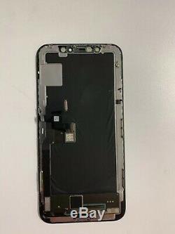 100% Original OEM Original Apple iPhone X OLED LCD Screen Replacement Black