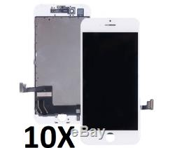 10X LCD Display Touch Screen Digitizer Replacement Parts for Iphone7 Plus NEW