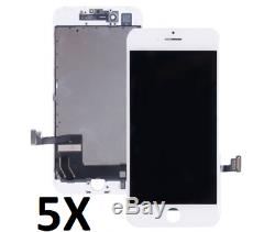 5X LOT OF iPhones LCD Touch Screen Digitizer Assembly Replacement Parts