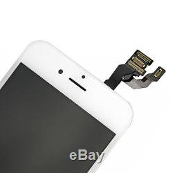 5x White LCD Display Touch Screen Replacement Full Assembly for iPhone 6 4.7 US