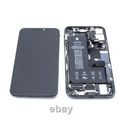 Apple iPhone 11 Pro Gray MW9C2LLA Screen Digitizer Battery Housing Replacement