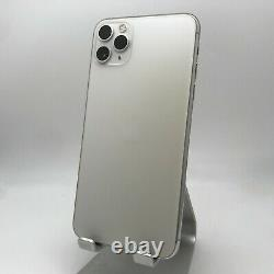 Apple iPhone 11 Pro Max 256GB Silver Unlocked Excellent with Replacement Screen