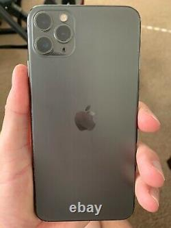 Apple iPhone 11 Pro Max UNLOCKED Space Gray. PLEASE READ. Screens Been Replaced