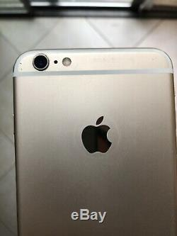 Apple iPhone 6s Plus 64GB Rose Gold Replacement Battery Screen Cracked