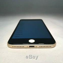 Apple iPhone 7 Plus 128GB Gold AT&T Unlocked Black Replacement Screen READ
