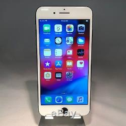 Apple iPhone 7 Plus 256GB Jet Black AT&T Unlocked White Replacement Screen