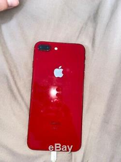 Apple iPhone 8 Plus 128GB Red (AT&T) A1897 (GSM) Replacement screen included