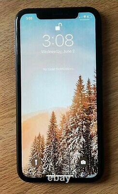 Apple iPhone XR 64GB Black (Unlocked)-USED, replaced front screen, no FaceID