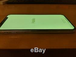 Apple iPhone XS-64GB, Silver (Unlocked) Works, but SCREEN NEEDS REPLACED