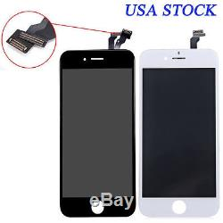 Black Touch Screen Glass Digitizer Replacement For iPhone 7