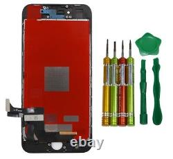 Broken Iphone 8 We Sell Replacement 4.7 LCD Touch Screen Assembly Black