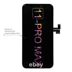 Display Touch Screen for Iphone 11 Pro Max OLED Digitizer Replacement BLACK