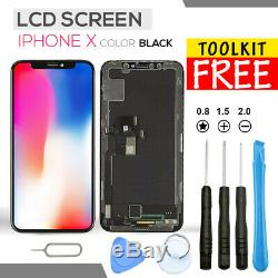 FOR iPhone X LCD DIGITIZER ASSEMBLY 100% REPLACEMENT DISPLAY 3D TOUCH SCREEN