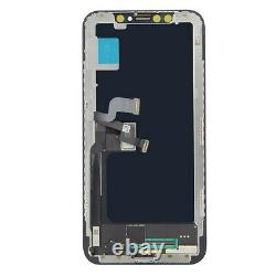Fit For iPhone X 10 OLED LCD Touch Screen Digitizer Replacement Assembly