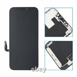 For Apple iPhone 12 OLED Display LCD Touch Screen Digitizer Replacement Frame US