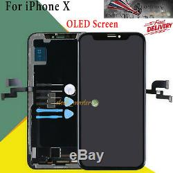 For Apple iPhone X 10 OLED LCD Digitizer Touch Screen Display Replacement UK