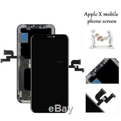 For Apple iPhone X LCD Touch Screen Display Digitizer Full Replacement Frame AA+