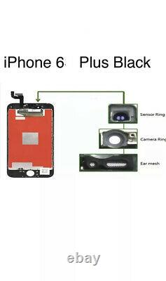 For IPhone 6 Plus White LCD Display Touch Screen Digitiser Replacement