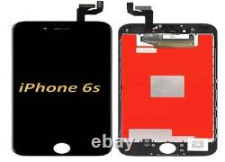 For IPhone 6S 4.7 Black LCD Display Touch Screen Digitizer Assembly Replacement