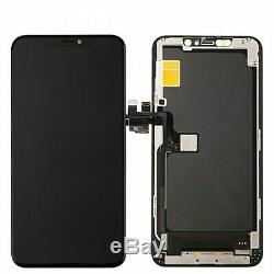 For iPhone 11 LCD Screen Replacement Touch Display Digitizer Assembly OEM Black