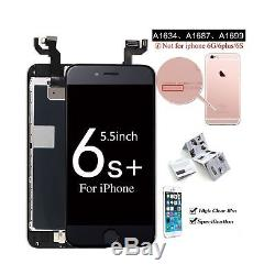For iPhone 6S Plus Screen Replacement LCD Display with Home Button Front Camera