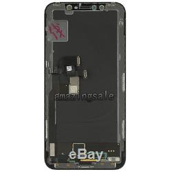 For iPhone X 10 LCD Display Touch Screen Digitizer Assembly Replacement Black