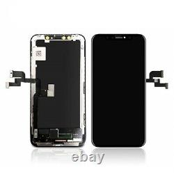 For iPhone X LCD Digitizer Soft Oled Screen Display Replacement + Tools