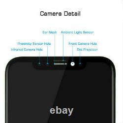 For iPhone X OEM Soft OLED Display Touch Screen Digitizer Assembly Replacement
