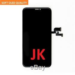 For iPhone X Premium Quality JK Soft OLED Display Screen Digitizer Replacement
