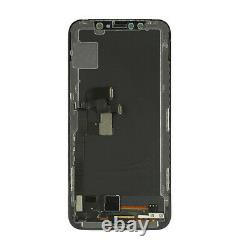 For iPhone X Soft OLED LCD Display Touch Screen Digitizer Assembly Replacement