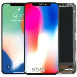 For iPhone X XR XS Max 11 OLED LCD Display Touch Screen Digitizer Replacement