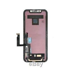 For iPhone XR LCD Display Touch Screen Digitizer Replacement With Back Plate