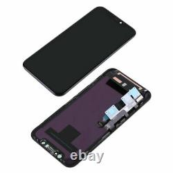 For iPhone XR LCD OLED Front Glass Touch Screen Digitizer Replacement OEM + Tool