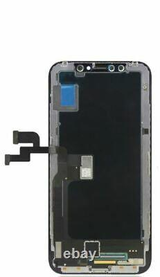 For iPhone XR OLED Black OEM Touch Screen and Digitizer Assembly Replacement