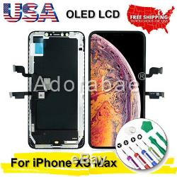 For iPhone XS Max OLED LCD Display Touch Screen Digitizer Replacement Lot