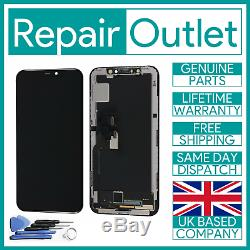 For iPhone Xs OLED AMOLED LCD Touch Screen Display Assembly Replacement Black