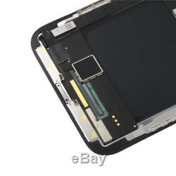 For iPhone x 10 Black LCD Touch Screen Display Digitizer Assembly Replacement
