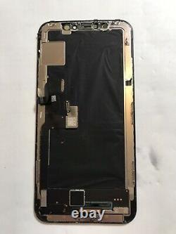 Genuine OEM Original Apple Black iPhone X OLED Screen Replacement Fair Condi#108