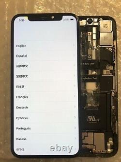 Genuine OEM Original Apple Black iPhone X OLED Screen Replacement Fair Condit#36