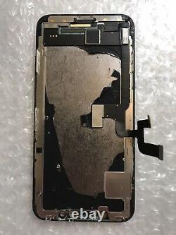 Genuine OEM Original Apple Black iPhone X OLED Screen Replacement Good Condi#102
