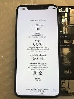 Genuine OEM Original Apple Black iPhone X OLED Screen Replacement Good Condit#39
