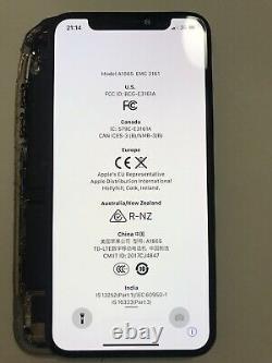 Genuine OEM Original Apple Black iPhone X OLED Screen Replacement Good Condit#58