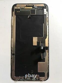 Genuine OEM Original Apple Black iPhone X OLED Screen Replacement Good Condit#59