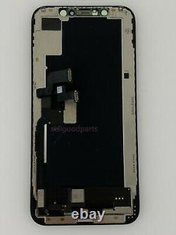 Genuine OEM Original iPhone XS Black OLED Replacement Screen Digitizer Grade A