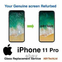 IPHONE 11,11pro, 11pro max SCREEN BROKEN TOP GLASS REPLACEMENT REPAIR SERVICE