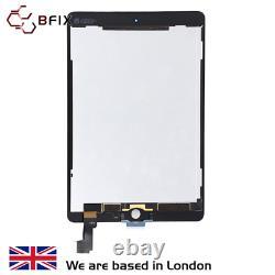 IPad Air 2 LCD screen, Original refurbished, Genuine, replacement black