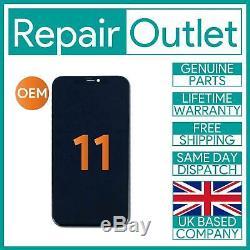 IPhone 11 Replacement Retina LCD Screen & Digitizer Genuine OEM UK Stock