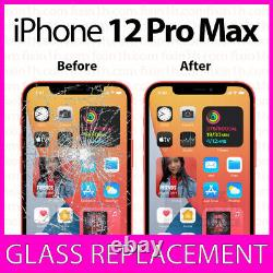 IPhone 12 PRO MAX CRACKED SCREEN LCD BROKEN GLASS REPLACEMENT REPAIR SERVICE