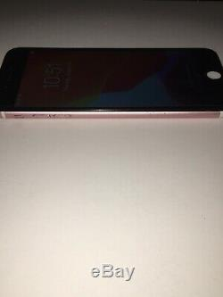 IPhone 7 Plus Used- 128GB Rose Gold (Unlocked) A166 Screen Replaced (black)