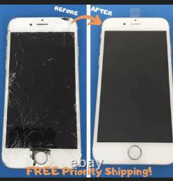 IPhone 8 Plus Front Screen, Back Glass Frame Repair Service Replacement